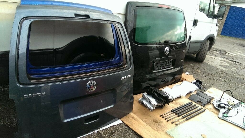Vw Caddy Van Rear Door Tailgate Ideal For Conversion Good Condition Delivery Ava Collection Welcome