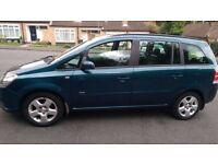 Vauxhall Zafira 1.8 Petrol, Manual,