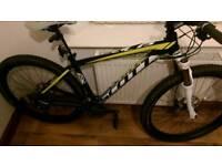 Scott scale hardtail mountain bike