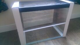 BRAND NEW 85 LITRE AQUARIUM WITH CONDENSATION TRAY
