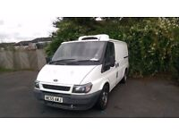 FORD TRANSIT- REFRIGERATED- INSULATED VAN