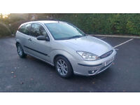 2005 FORD FOCUS 1.8 ZETEC TDCI, DIESEL, LONG MOT, 45 MPG, VERY TIDY CONDITION