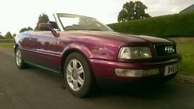 Classic Audi 80 Cabriolet Final Edition yr 2000