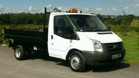 FORD TRANSIT TIPPER 2010 ONLY84 K FSH NOT MERCEDES SPRINTER IVECO DAILY
