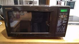 Sharp Microwave Oven with Top and Bottom Grills and Convection (complete with manual)