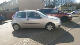 silver fiat punto 04 plate reliable car.