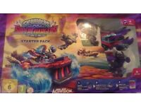 skylanders superchagers starter pack PS 3 activision