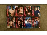 Smallville DVD's - Seasons 1-8