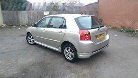 Toyota Corolla 1.4 VVT-i Colour Collection 5dr Low Mileage/1 owner/Full main dealer service history