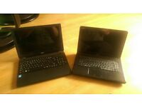 acer and dell laptops. spares or repair