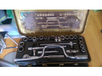 25-piece socket and wrench set