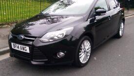2014 Ford Focus, Black Ecoboost 1.0 Petrol Engine, 6 Speed Manual, 5 Doors.