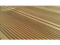 New High Quality Swedish Fine Ribbed Treated Decking And Base 3.6m x 2.4m