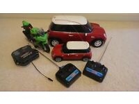3 x Radio Controlled Vehicles and Nano Watch Tower with Bugs
