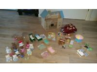 Sylvanian Families Bluebell Cottage, Saloon Car, Furniture, characters & more