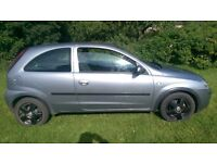 2004 CORSA with TEN MONTH MOT comes with PRIVATE PLATES WORTH £250+ and a TANK OF FUEL WORTH £40
