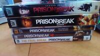 prison break complete seasons + short movie