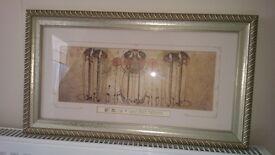 Charles Rennie Mackintosh Margaret Macdonald Mackintosh two prints in lovely frames