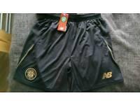 Celtic away shorts Black