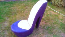 Giant Stiletto Shoe Chair