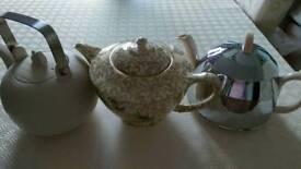 Antique teapot bundle