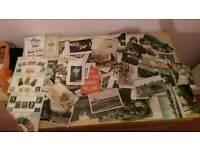 Old postcards n stamps