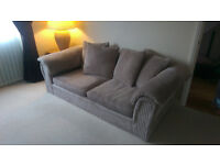 Immaculate 3 seater sofa and swivel love chair