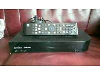 Huawei DN370T You view box bundle. PAUSE,record, BT,TALK TALK,VIRGIN ETC. PLUS remote and adapter