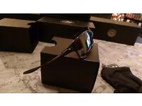 oakley x squared bnib polished carbon black iridium polorised 6011-06