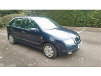 2001 SKODA FABIA 1.4 COMFORT, LONG MOT, DRIVES WELL, 40+ MPG, TIDY CONDITION
