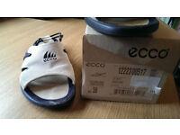 Ecco Shark Sling Back Sandals, Beige