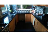Schmidt fitted kitchen with granite worktops for sale