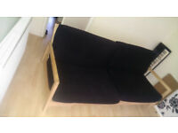 king size woden frame sofa bed