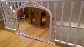 large mantle mirror