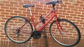 """Hybrid Bike Apollo 28"""" Wheels 18"""" Frame"""