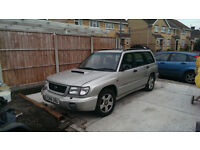 Subau Forester S-Turbo - Non Runner - Spares or Repair - Cam belt gone.