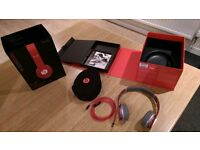 Beats by dr.dre Solo HD Red Special Edition Headphones, with box