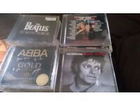 50 CD Albums Abba, Cher, Beatles, Phil Collins all CDs listed