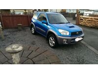 For sale a toyota rav4 d4d diesel 4wd 12 moths mot not car cars jeep cardiff swansea jimny vitara