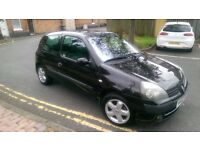 2003 RENAULT CLIO BOLLIBONG EDITION WITH 12 MONTH M.O.T