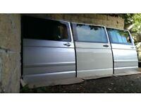 vw t5 t5.1 transporter caravelle multivan driver passenger sliding door camper conversion day van