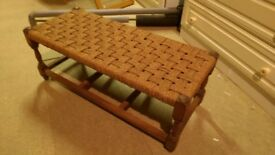Seagrass stool in very good condition