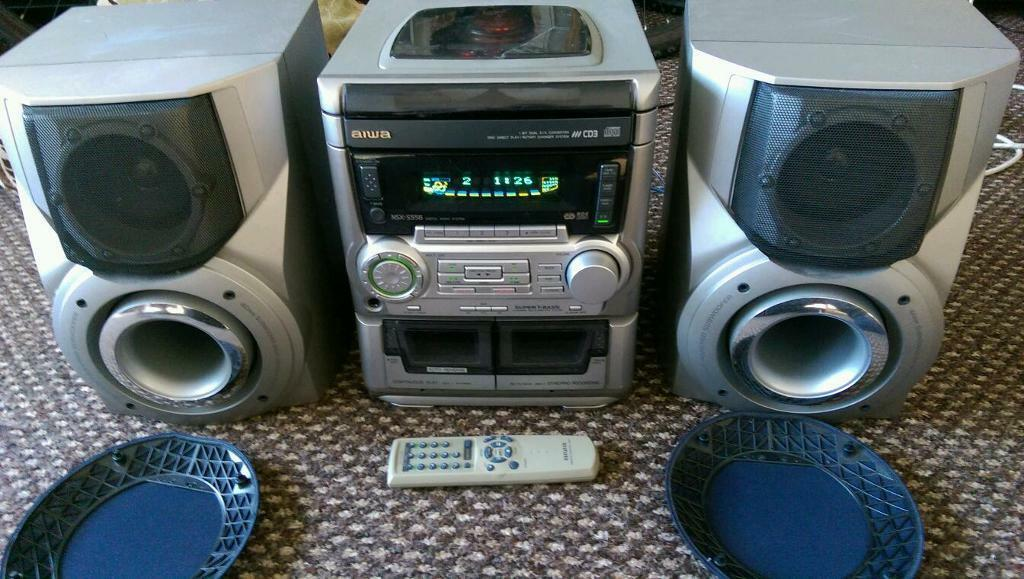 Bose Stereo >> Aiwa nsx-s556 3CD remote hi fi surround sound stereo amplifier rds tuner | in Sandwell, West ...