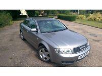 Audi A4 2003 1.9 TDI 130BHP Manual FSH MOT. Priced to sell! Grab a real bargain!