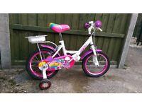 Childrens pixie bike.
