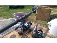 Telescopic Fishing Rod & Tackle Bag