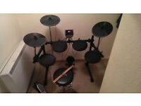 Alesis DM6 USB Electronic/Electric/Digital Drum Kit - Plus Stool and Sticks (RRP £399)