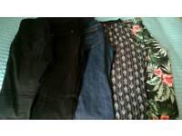 Bundle of maternity clothes, size 10-12