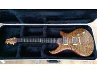 Organic Classic Bare Knuckle Stockholm P90 5A Quilt Hand-Made Custom Guitar