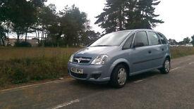 Vauxhall Meriva 1.4 Petrol 2007 full service history